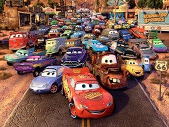 Dessins animés : Cars (Pixar)
