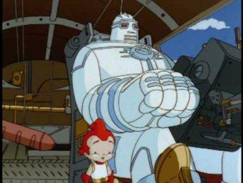 Dessin animé i robot